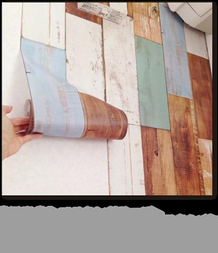 【写真③】マスキングテープ 最近では、様々なタイプのマスキングテープが販売されています。